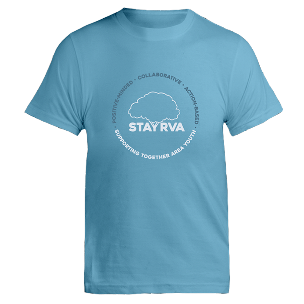 Bondi Blue STAY RVA T-Shirt