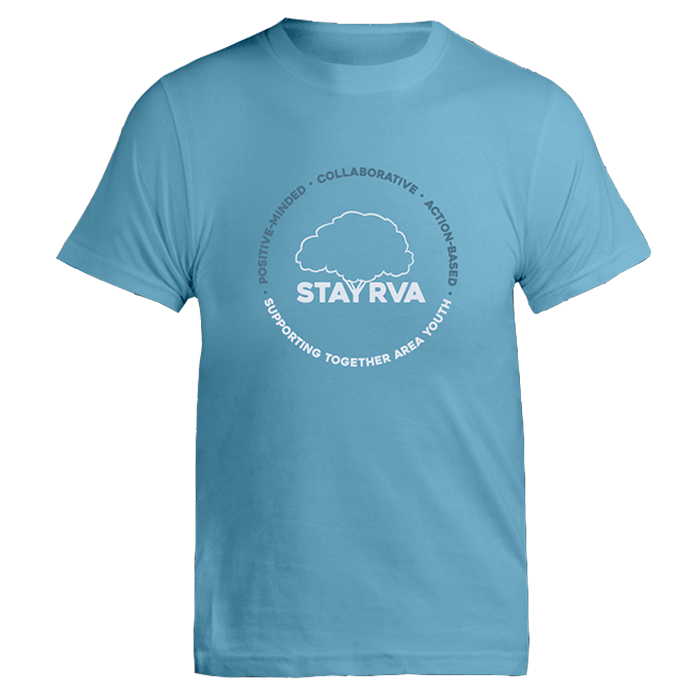 Bondi Blue STAY RVA T-Shirt