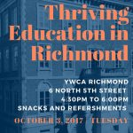 Thriving Education in Richmond event