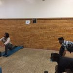 Be the Change Club did yoga with Ashley Williams of BareSOUL!