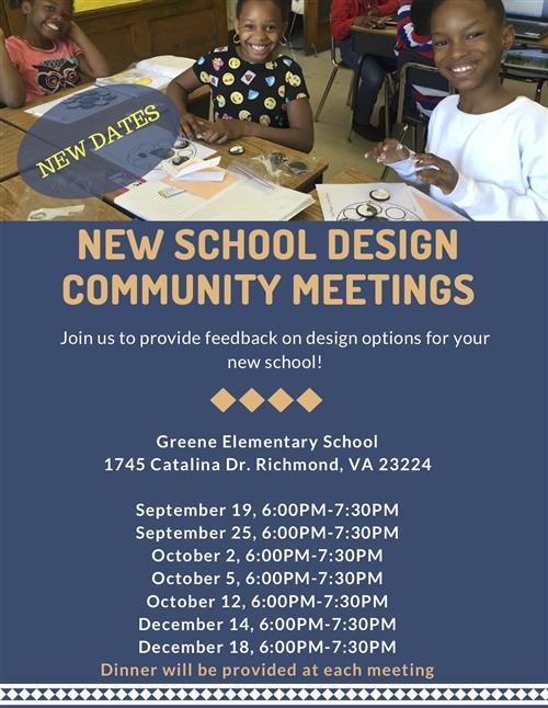 New School Design Community Meetings